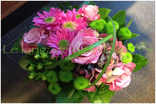 Flowres Munich, Bouquet pink